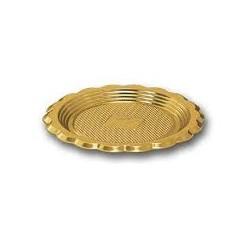 Mini vassoio dorato 100 pz