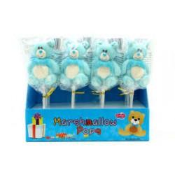 Orsetti celesti marshmallow pops 12 pz