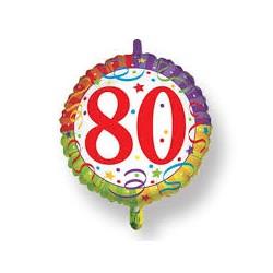 Palloncino 80 coriandoli blisterato