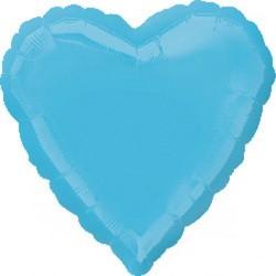 Palloncino cuore azzurro
