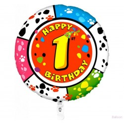 Palloncino Happy 1st birthday