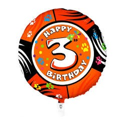 Palloncino Happy 3rd birthday