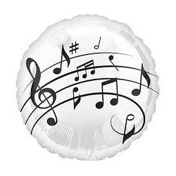Palloncino note musicali