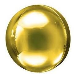 Palloncino sfera oro 56 cm