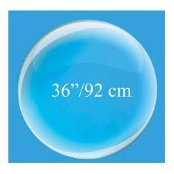 Palloncino trasparente sferico