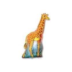 Pallone a forma di Giraffa - animali Safari Super Shape 120 cm