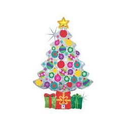 Pallone albero di Natale sparkling super shape