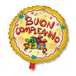 Pallone Buon compleanno regali 80 cm