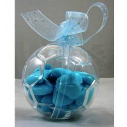 Pallone da calcio formato mini sagomato in plexiglass 6 pz