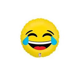 Pallone emoji divertita