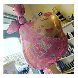 Pallone fagottino rosa