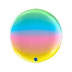 Pallone globe multicolor