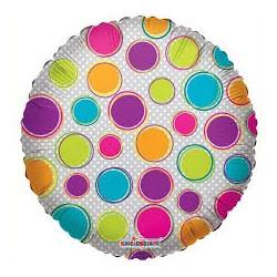 Pallone trasparente multicolor