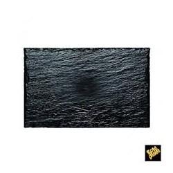 Piatto rock medium nero 10 pz