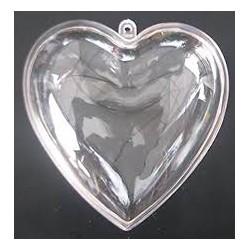 Scatola cuore in plexiglass