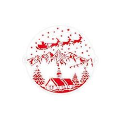 Stencil decorativo: Christmas dream