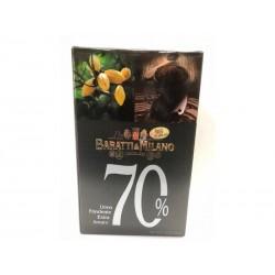 Uovo di cioccolato fondente extra 70% BARATTI&MILANO 210 g