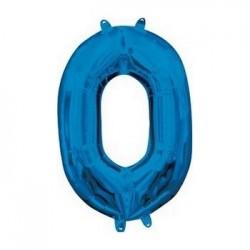Palloncino n 0 blu 1 metro