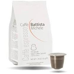 10confezioni da 10 capsule per caffè espresso comp.nespresso