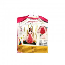 Abito rosa principessa bimba