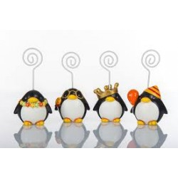 Bomboniera memoclip Pinguino 1 pz
