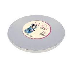 Cake board argento 40 cm