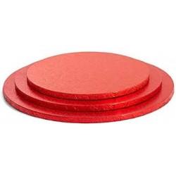 Cake board rosso 35 cm